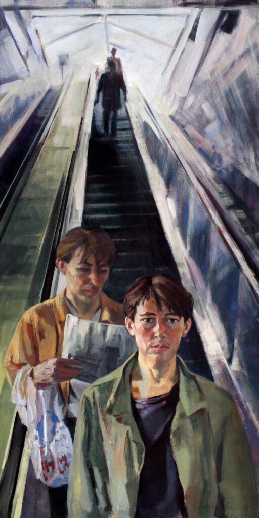 Selfportrait - Kottbusser Tor 1984