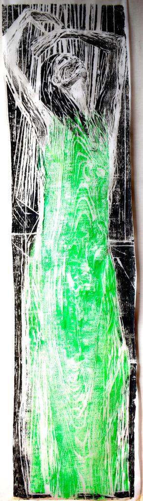 Gravure sur bois 2020 -hommage à Pina Bausch