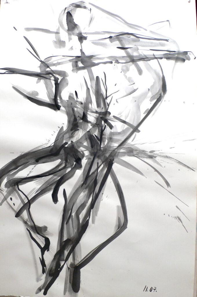 Répétition 2004 -sacre du Printemps- ballet de l'opéra Toulouse