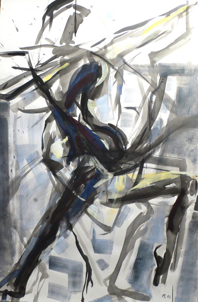 Répétition 2004 -sacre du Printemps-ballet de l'opéra Toulouse