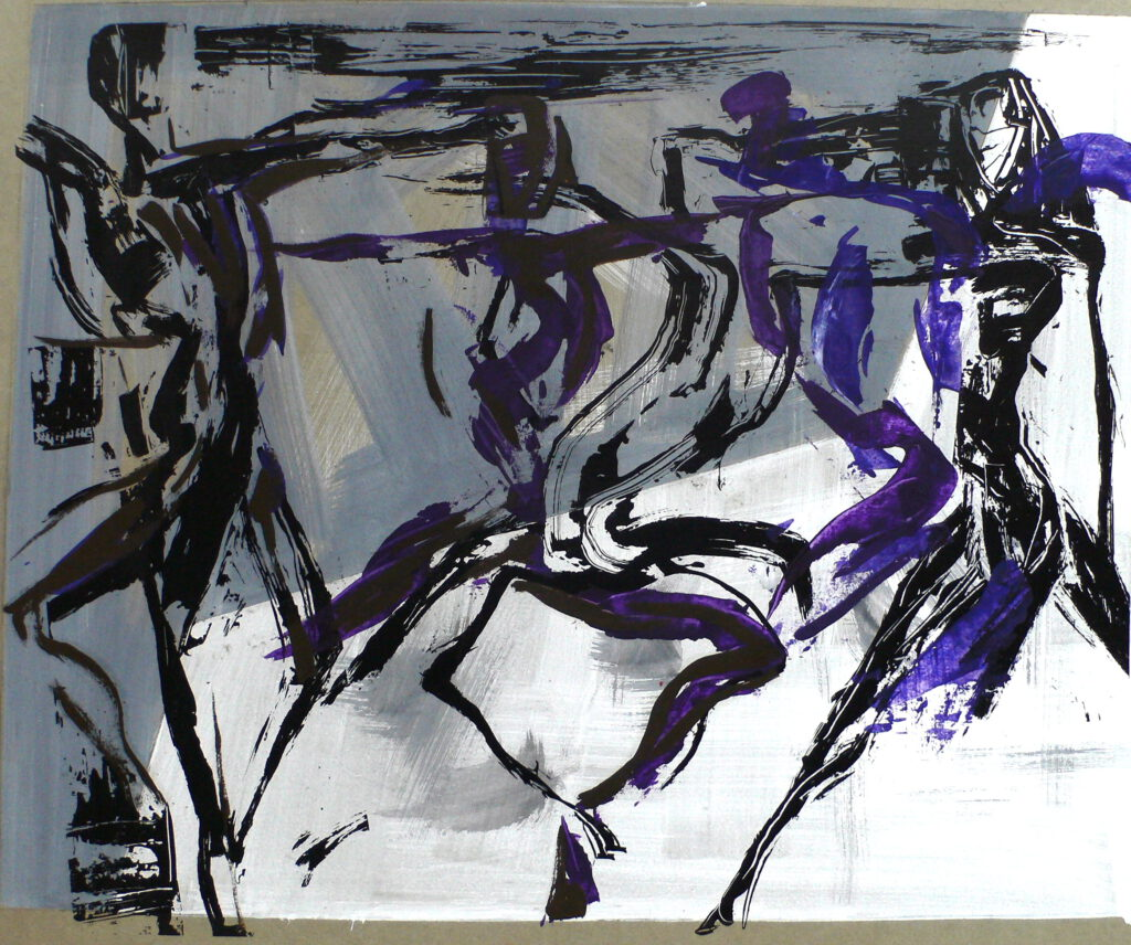 Répétition 2005 -sacre du Printemps- ballet de l'opéra Toulouse