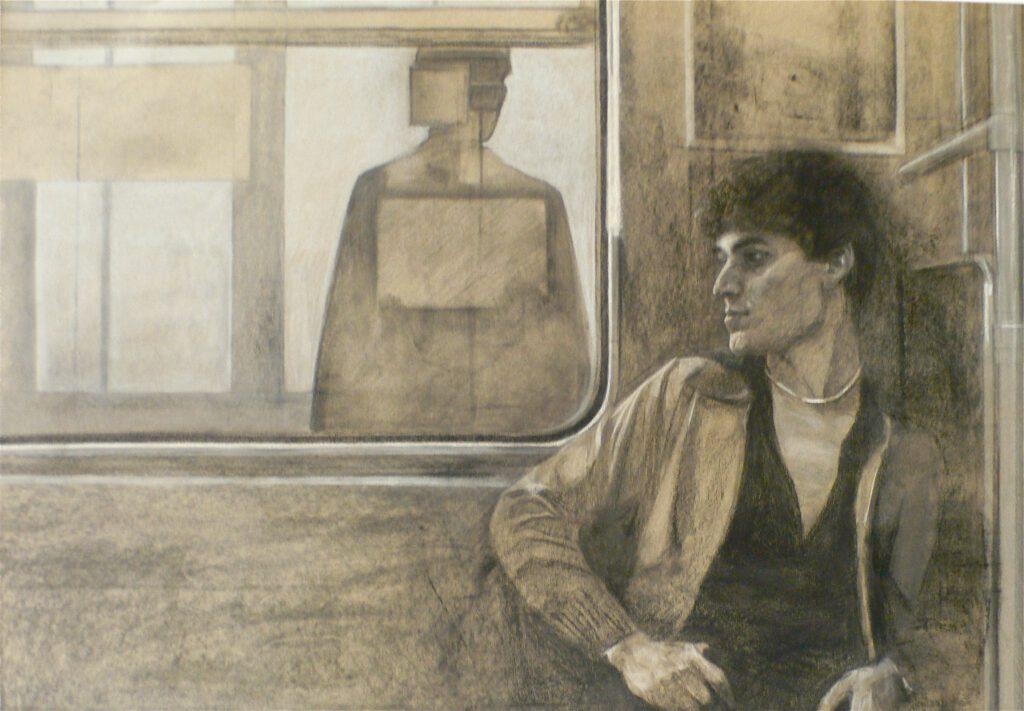 Portrait - Métro 1979