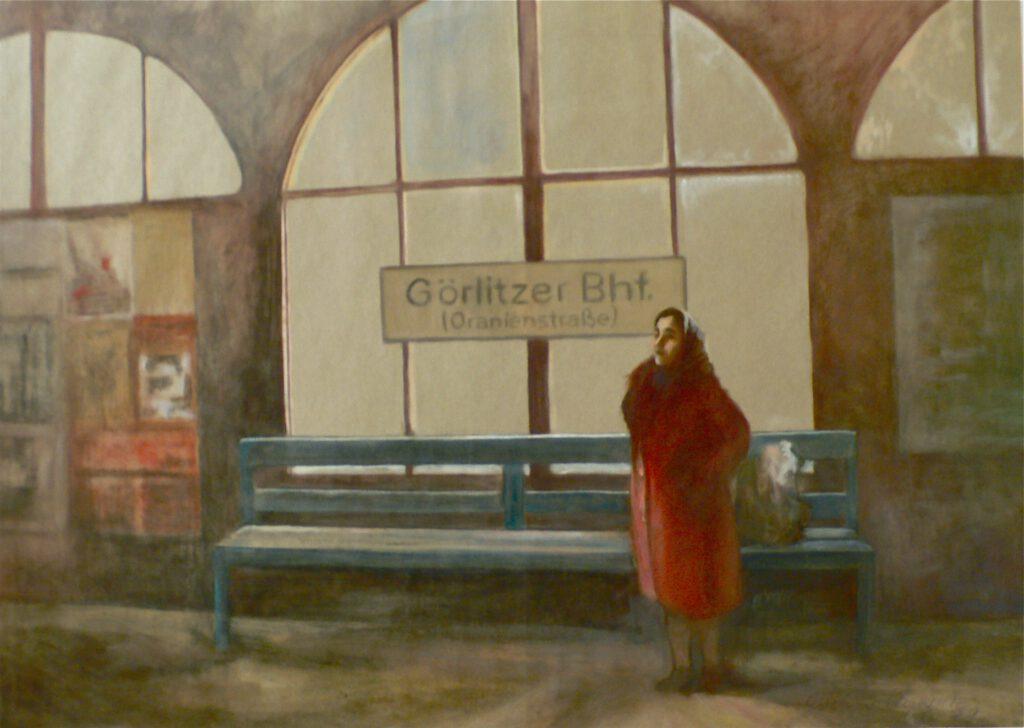 Portrait - Görlitzer Bahnhof 1980