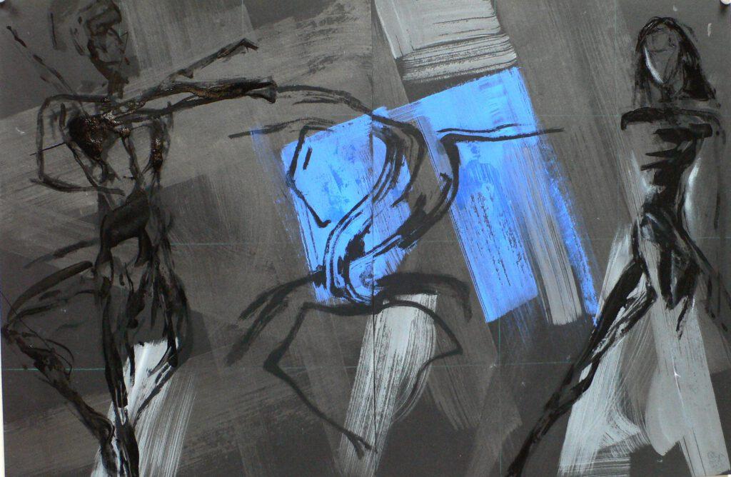 Répétition 2006 - sacre du Printemps - Ballet du Opéra Toulouse