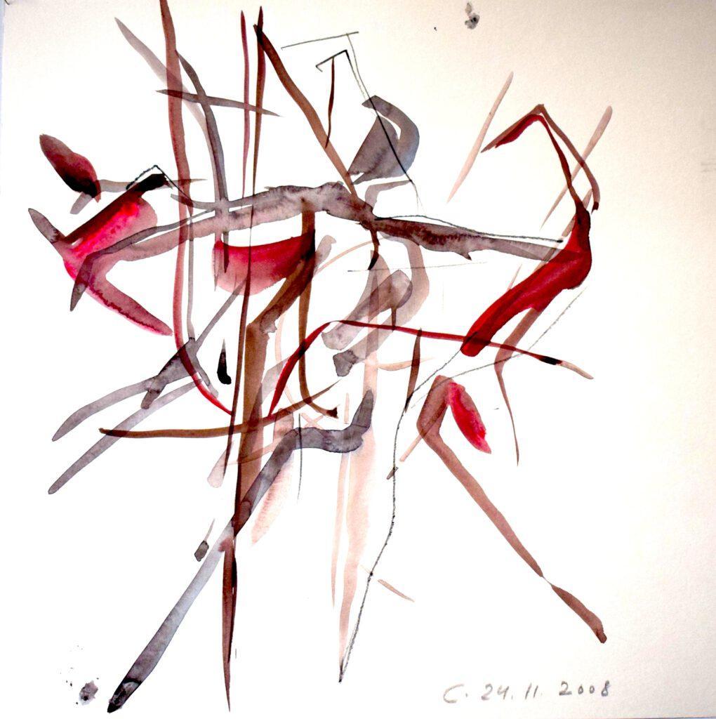 Répétition 24.11.08 -Caravaggio- Staatsoper Berlin