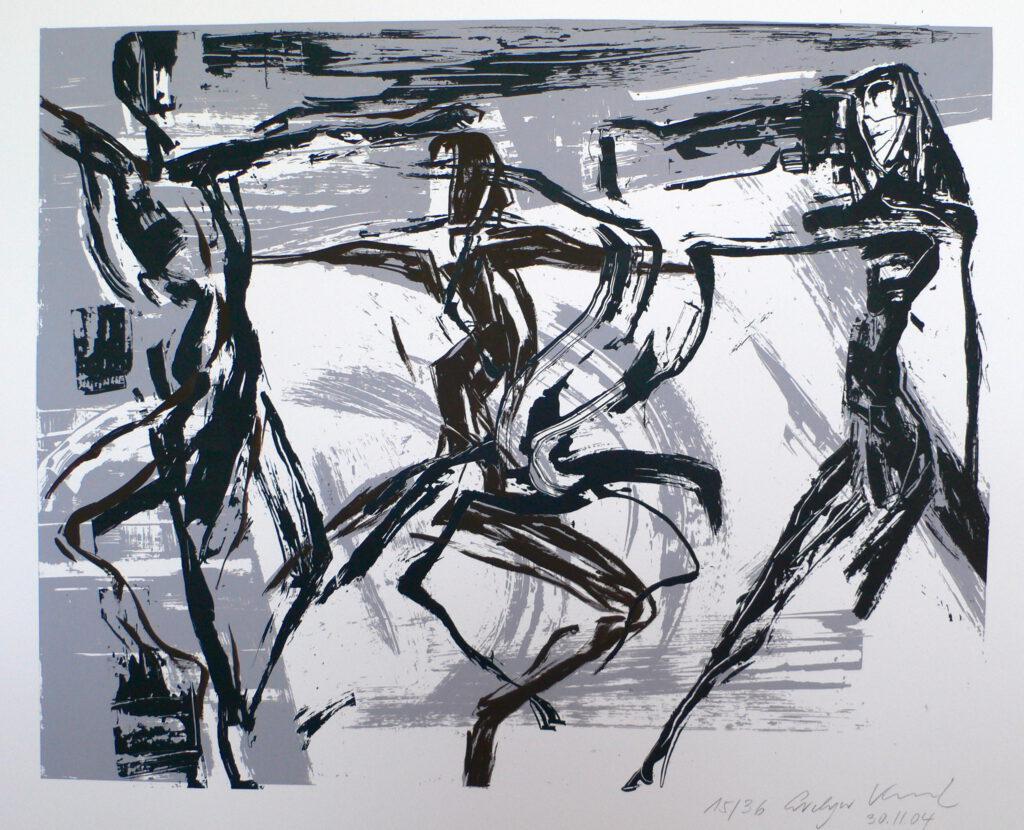 Répétition 2005 - sacre du Printemps - Ballet du Opéra Toulouse