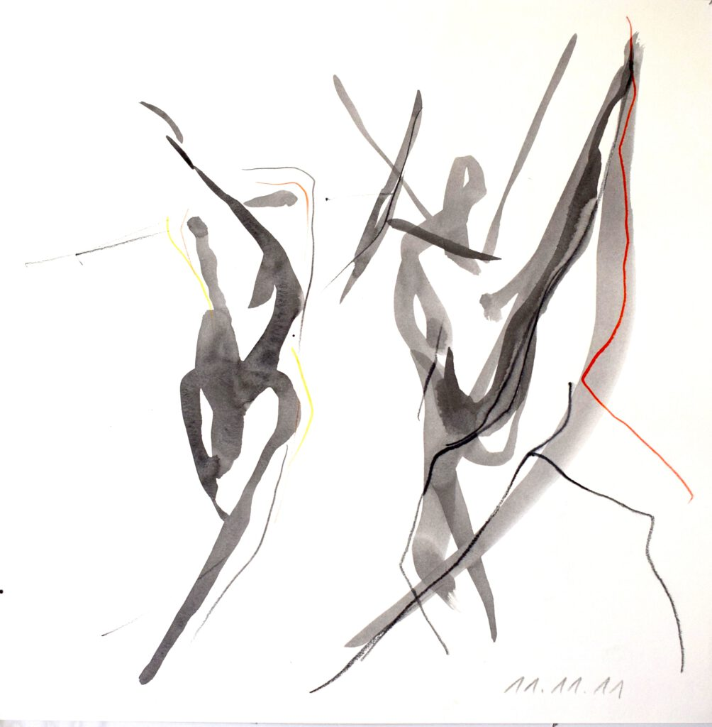 Répétition 11.11.08 -Caravaggio- Staatsoper Berlin